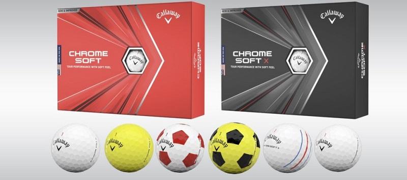 Callaway Chrome Soft/Chrome Soft X là dòng sản phẩm hướng tới đối tượng người chơi golf chuyên nghiệp