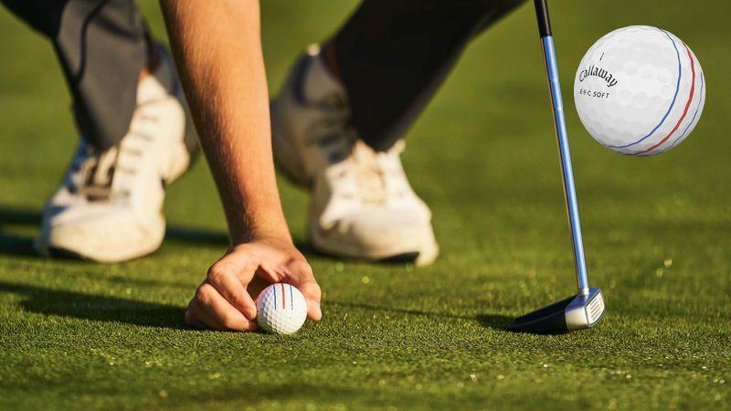 Callaway E.R.C. Super Soft là mẫu bóng 2 mảnh được các golfer nghiệp dư ưa chuộng nhất