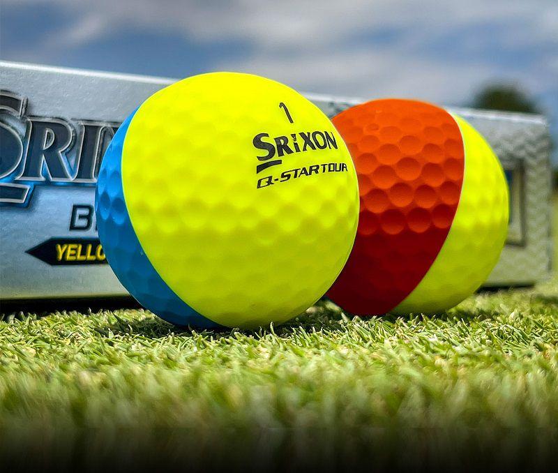 Bóng golf Srixon nổi bật với màu sắc cực đa dạng
