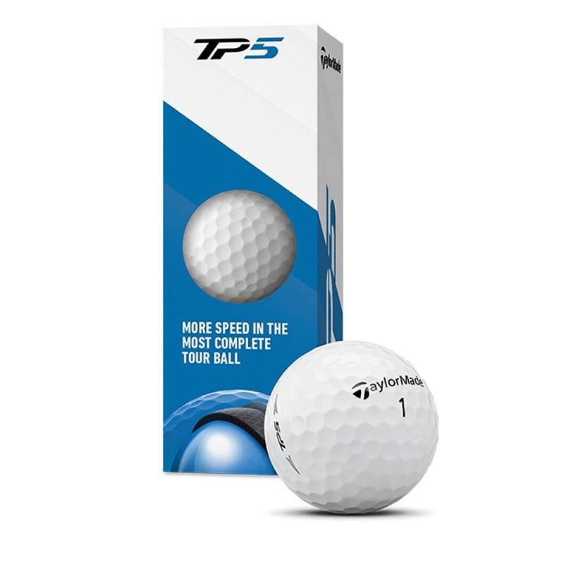 Bóng Taylormade TP5 golf ball với 5 lớp chắc chắn
