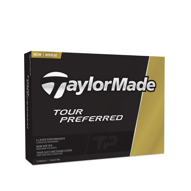 Bóng golf Tour Preferred Taylormade cho những cú putting và chipping