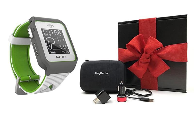 Callaway GPSy Golf GPS với màn hình vuông rộng 1,28 inches giúp golfer đo khoảng cách tới green một cách dễ dàng
