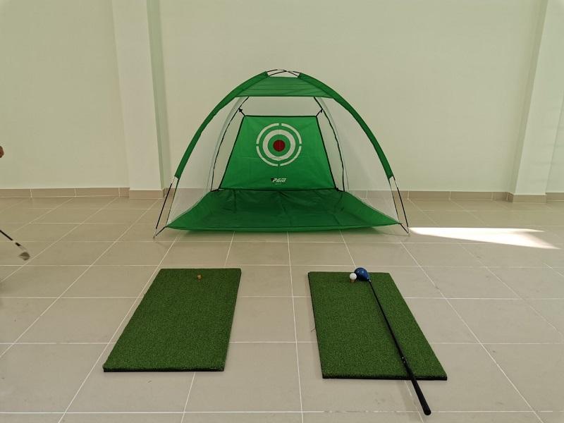 Sử dụng lều tập golf giúp tiết kiệm được chi phí và thời gian