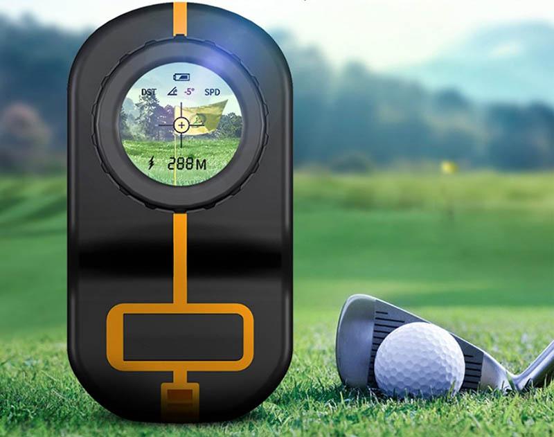 Máy đo khoảng cách golf với nhiều công dụng.