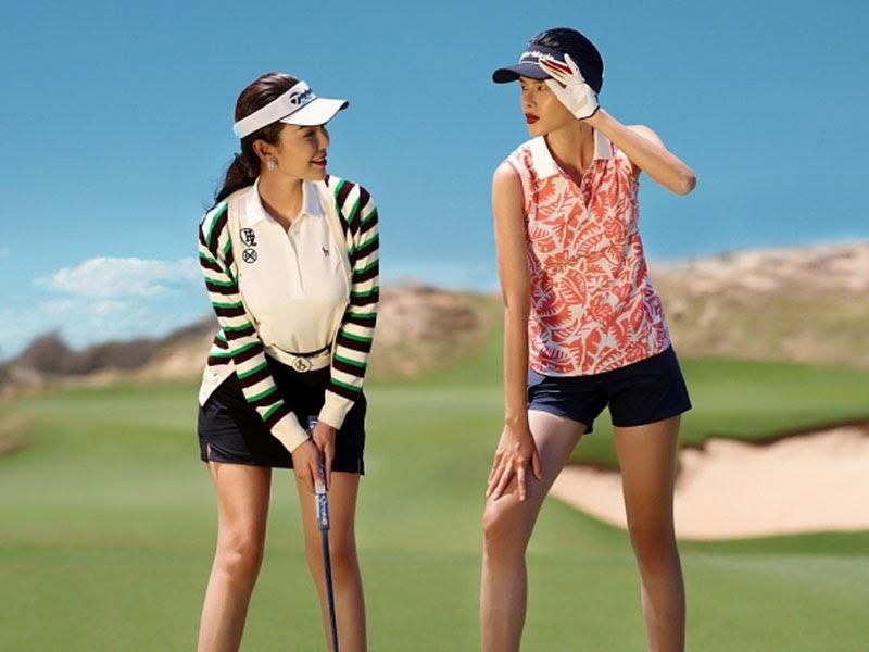 Số lượng các thương hiệu quần áo golf tại Hàn Quốc đặc biệt nhiều