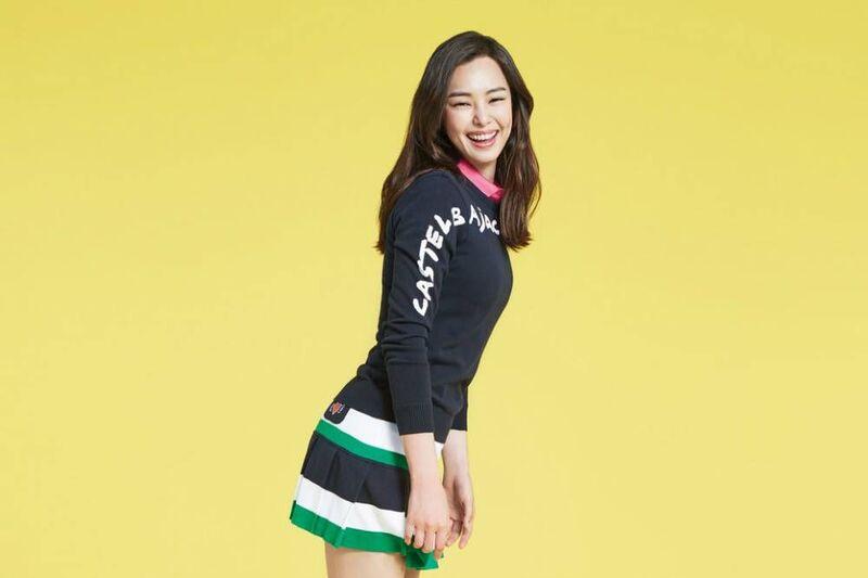 Quần áo golf Hàn Quốc Castelbajac gây ấn tượng với thiết kế độc đáo trông không khác gì một tác phẩm nghệ thuật