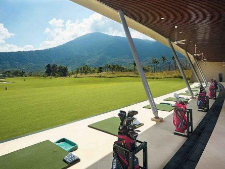 Khu luyện tập tại sân golf Bà Nà Hills