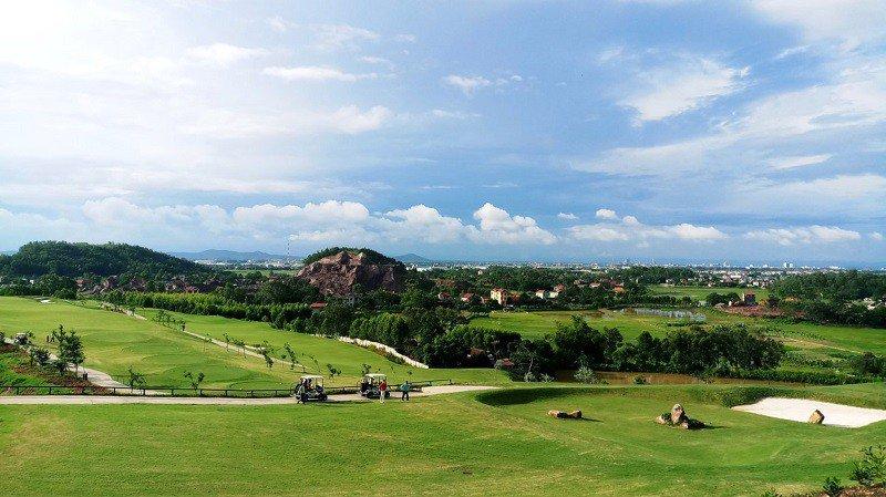 Dự án sân golf Lục Nam đang được tiến hành theo kế hoạch