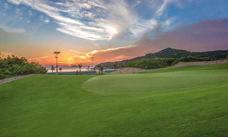 Sân golf KN được thiết kế một cách kỹ lưỡng và độc đáo