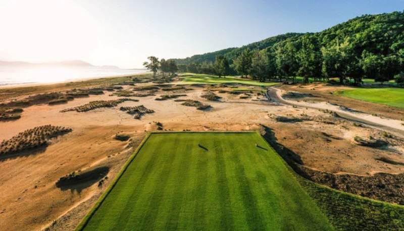 Thiên nhiên rất ưu ái với sân golf Laguna