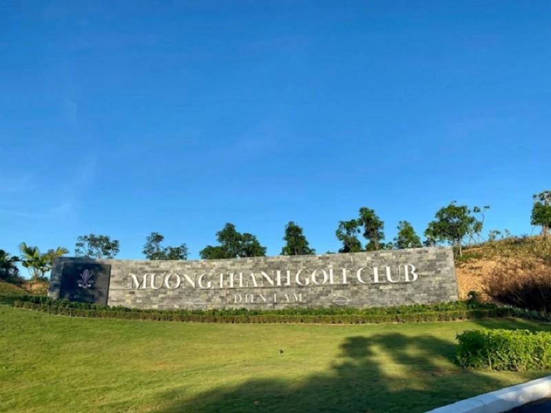 Sân golf Mường Thanh Diễn Châu có phong cảnh tuyệt đẹp