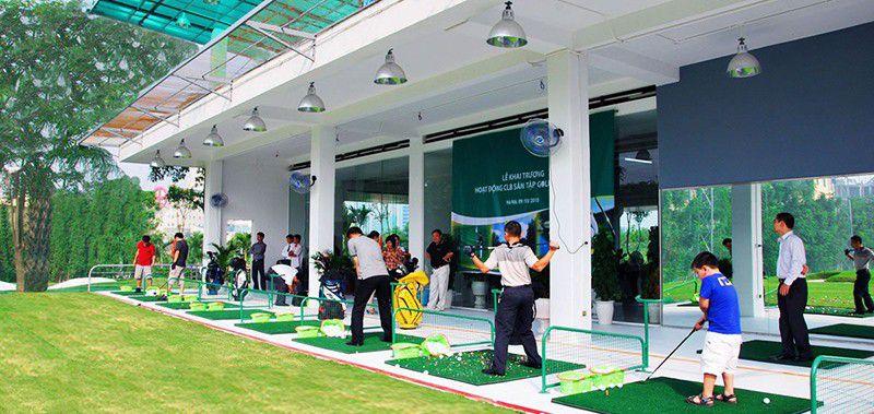 Giá dịch vụ tại sân golf Thanh Hà rất phải chăng