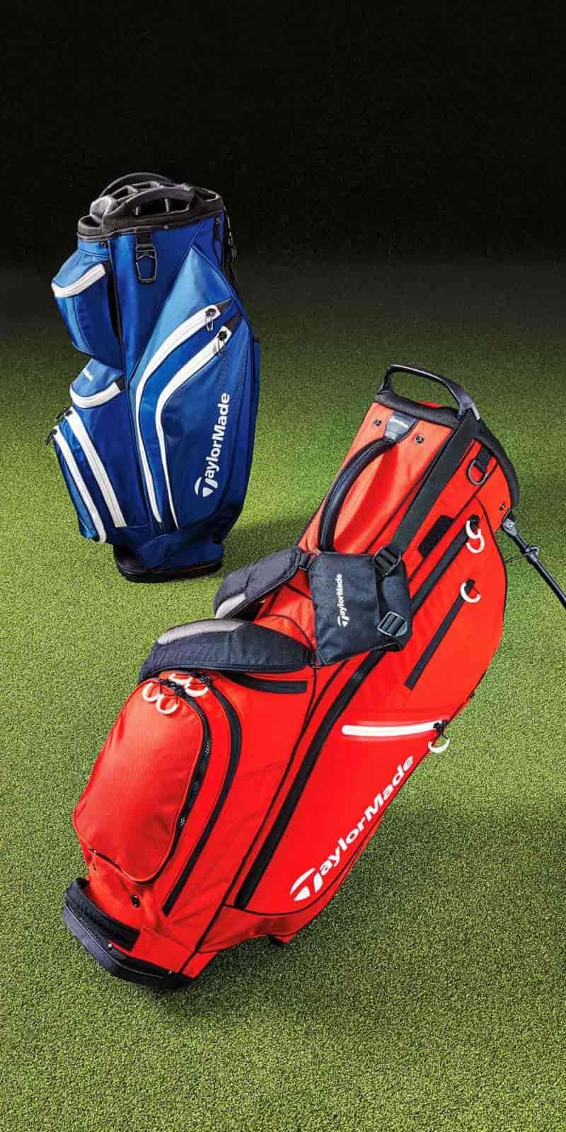 Túi gậy golf Taylormade được nhiều người chơi yêu thích bởi trọng lượng nhẹ nhàng, tiện di chuyển và độ bền