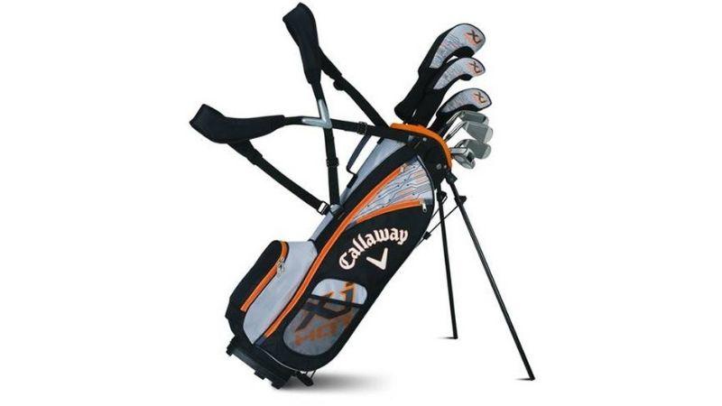 Túi gậy golf vải dù Callaway có kích thước nhỏ gọn có thể dễ dàng nhét vừa vào cốp xe