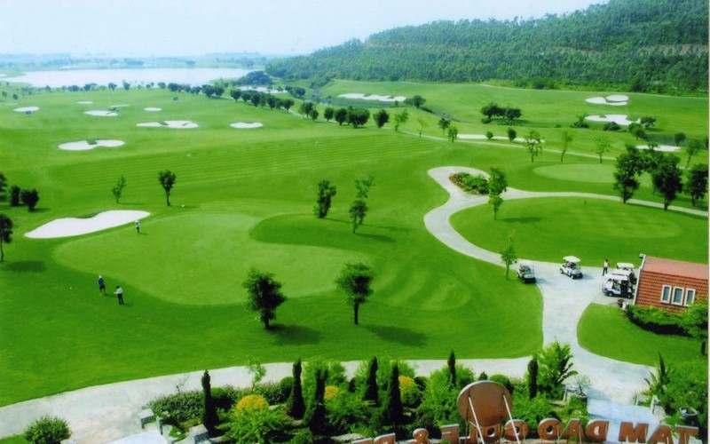 Sân Flamingo tại Đại Lải từng nằm trong top 10 sân golf đẹp nhất thế giới