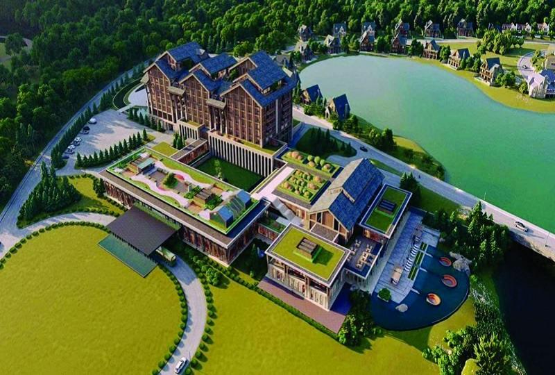 Mô hình dự án sân golf Lanh Thanh