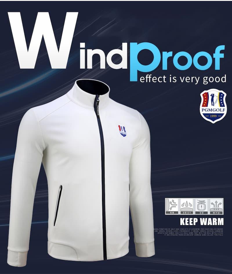Áo khoác Golf Nam PGM Golf Jacket với thiết kế trẻ trung và hiện đại