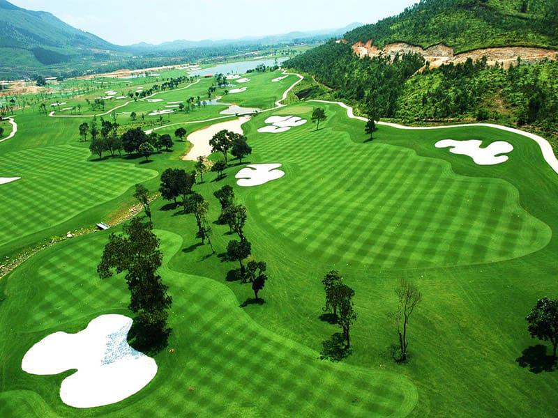 Sân golf Tam Đảo được thiết kế với tổng chiều dài đạt 7200 yards