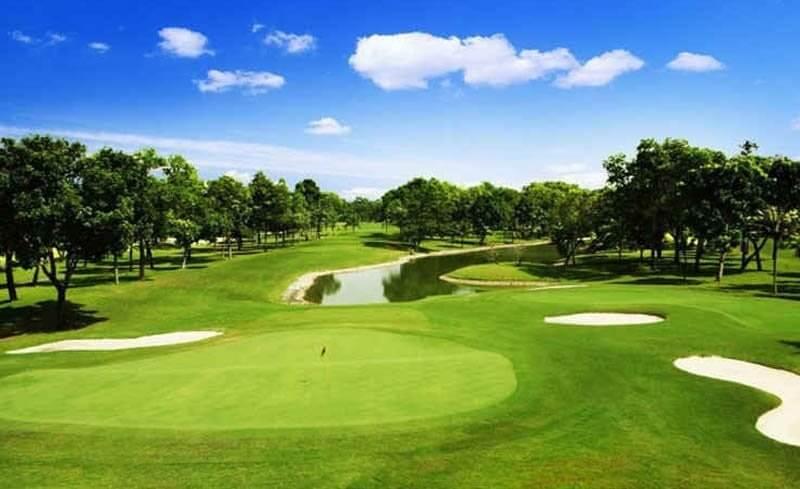 Sân golf Mường Thanh được chủ đầu tư xây dựng với thiết kế hiện đại