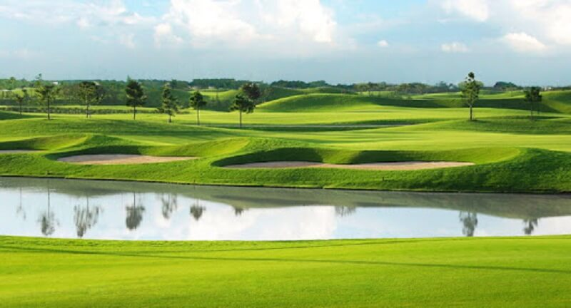 Sân golf Mekong Island Golf & Villas có 100% vốn đầu tư nước ngoài