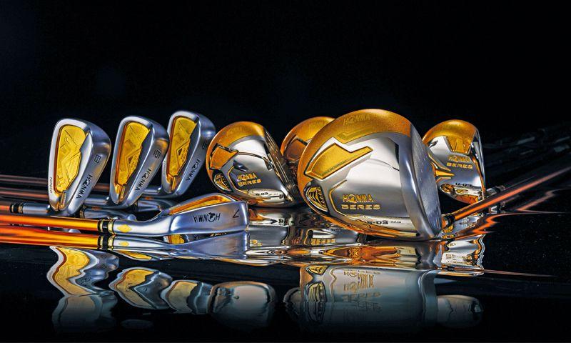 Bộ gậy golf Honma 5 sao có thiết kế vô cùng tinh xảo