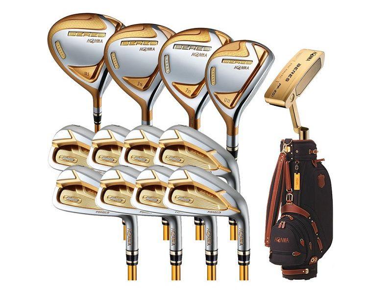 Bộ gậy golf Honma Beres BE07 2020 5 saogây ấn tượng ngay từ ánh nhìn đầu tiên