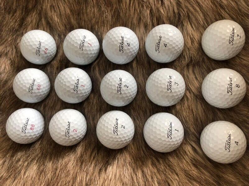 Bóng của Titleist giúp golfer đạt khoảng cách tối đa khi thực hiện cú swing đúng kỹ thuật