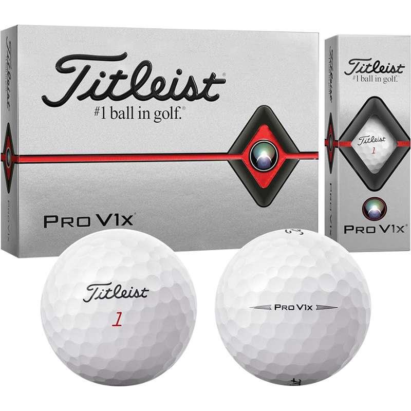 Titleist Pro V1x là một trong những mẫu bóng bán chạy nhất hiện nay