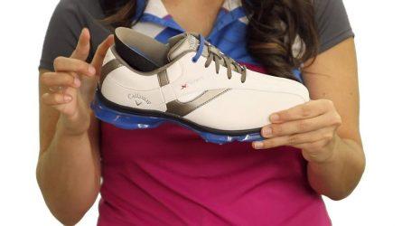 Giày golf Callaway được thiết kế với kiểu dáng trẻ trung và năng động