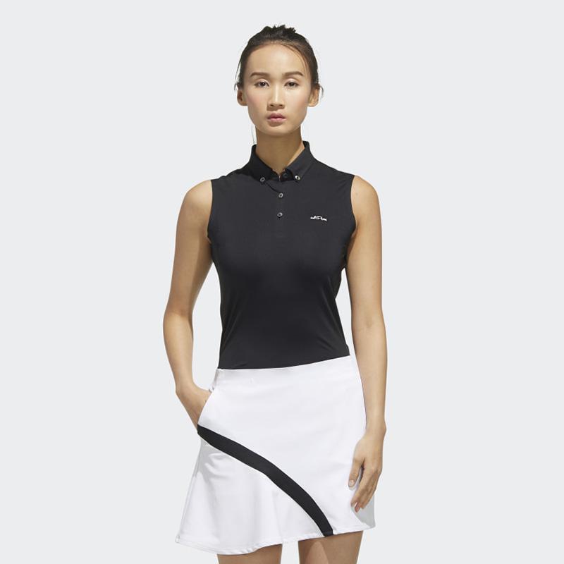 Áo golf sát nách Adidas với thiết kế trẻ trung