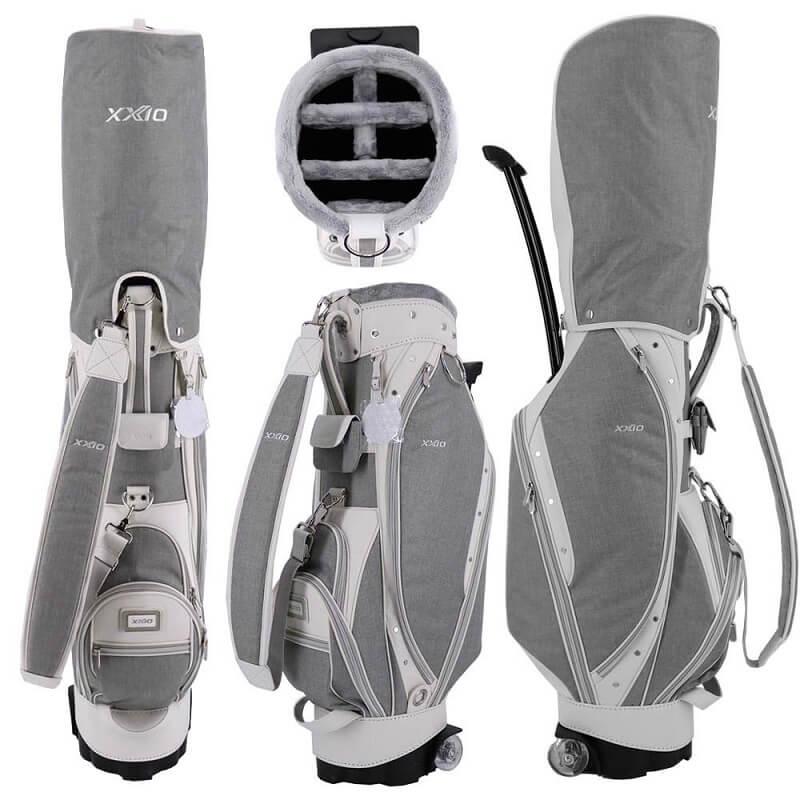 Túi đựng gậy có bánh xe là vật dụng quan trọng với golf thủ khi lên sân