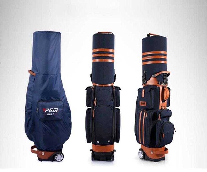 Người chơi nên chọn loại túi có thiết kế khóa kéo để bảo vệ vật dụng bên trong
