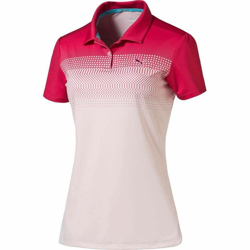 Áo Golf Nữ Puma W Colorblock Fade Polo mang lại cảm giác dễ chịu