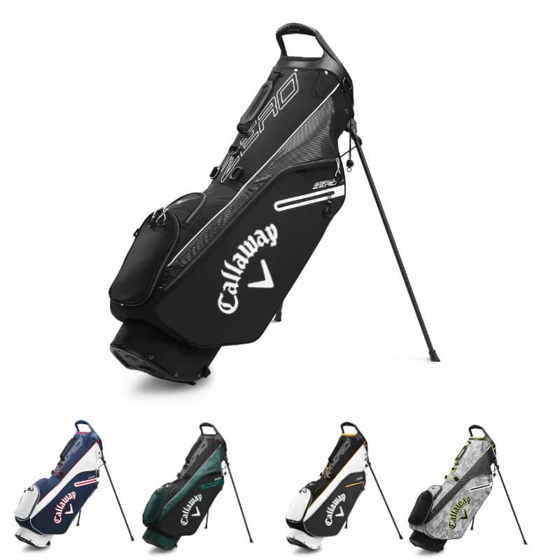 Túi gậy golf Callaway Golf Hyper Lite Zero là dòng túi đứng siêu nhẹ chỉ nặng khoảng 0,9kg rất phù hợp với việc mang vác