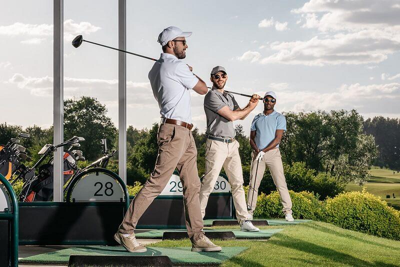 Kính chơi golf có công dụng chính là bảo vệ đôi mắt của golf thủ