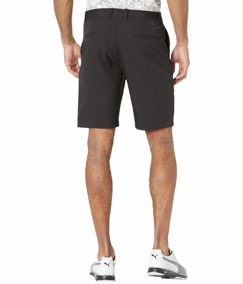 Dòng sản phẩm quần soóc Jackpot Golf Shorts 2.0 làm từ 100% polyester có khả năng chống tia UV cao và thiết kế ôm hông