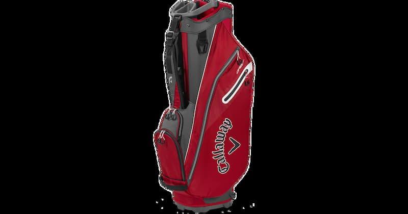 Mẫu túi Callaway Org 7 Cart Bag được thiết kế để kết hợp với xe cart nhưng cũng hoàn toàn đủ nhẹ để golfer mang vác
