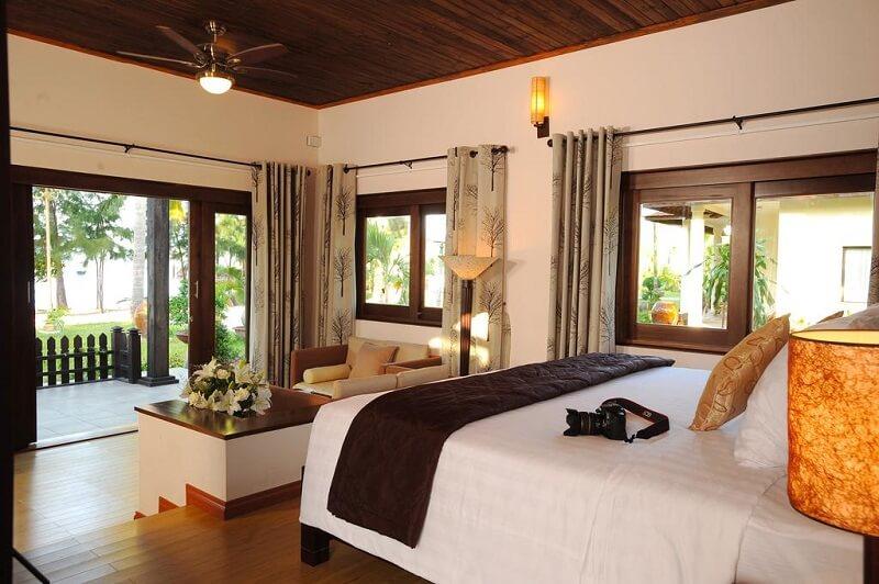 Diamond Bay Nha Trang có khu vực nghỉ dưỡng đạt tiêu chuẩn 4 sao