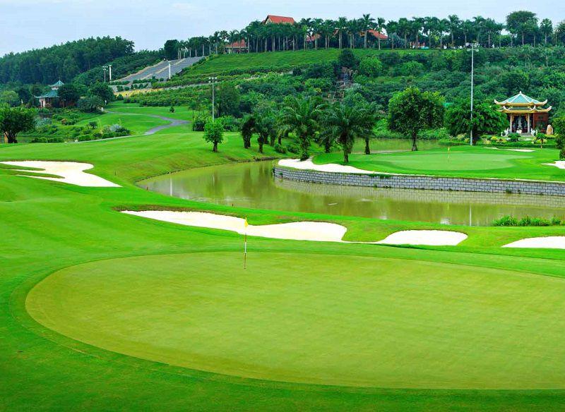 BRG King's Island Golf Resort là một trong những sân golf đẹp nhất khu vực Đông Nam Á
