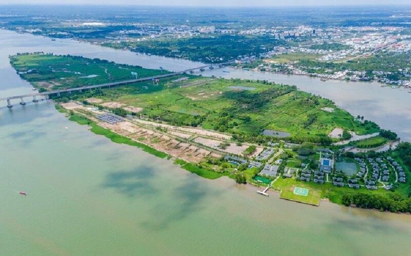Vị trí của dự án sân golf Cần Thơ nằm ngay trong trung tâm của Đồng bằng sông Cửu LongVị trí của dự án sân golf Cồn Ấu nằm ngay trong trung tâm của Đồng bằng sông Cửu Long