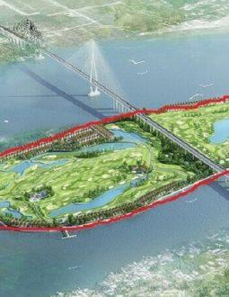 Vào tháng 5 năm 2019, Thủ tướng Chính phủ đã chính thức phê duyệt dự án sân golf Cồn Ấu