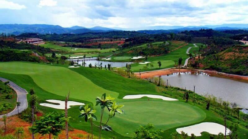 Sân golf Cồn Ấu hứa hẹn sẽ trở thành địa chỉ tập golf lý tưởng