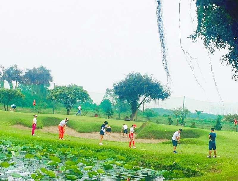 Đảo Sen golf là một trong những điểm đến lý tưởng