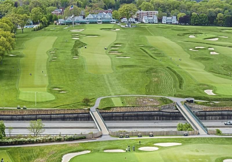 Oakmont Country Club - Một trong những sân golf được sử dụng tổ chức giải đấu nhiều nhất