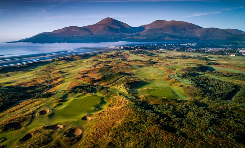 Championship - Royal County Down Golf Club là sân golf của Bắc Ireland