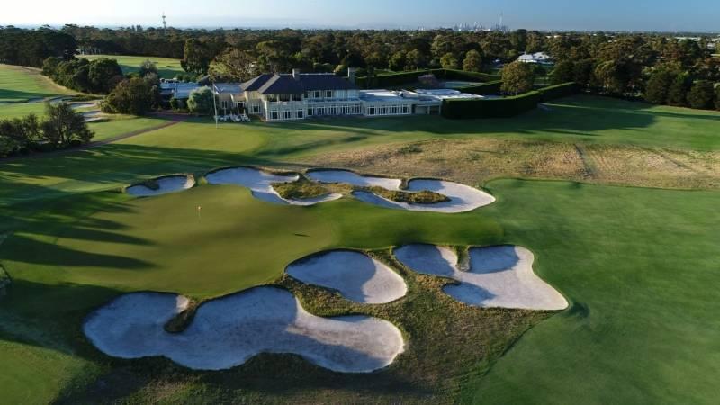 West - Royal Melbourne Golf Club của Australia cũng lọt top