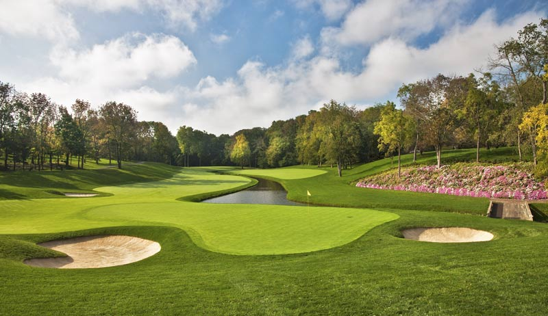 Sân golf Muirfield ở Scotland với thiết kế vô cùng đặc trưng