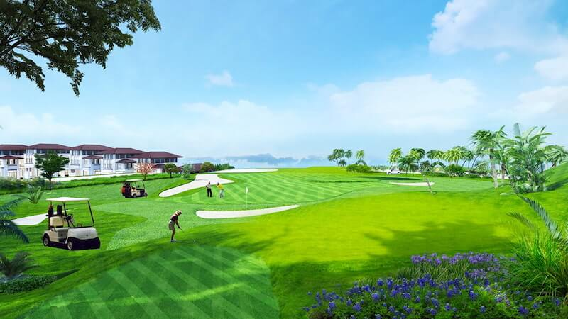 Thiết kế sân Golf dạng Links với không gian thoáng đãng
