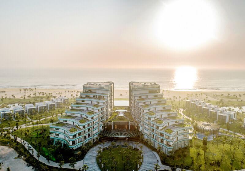 Sân Golf Nam Hội An nằm trong khu quần thể du lịch nghỉ dưỡng Vinpearl Resort