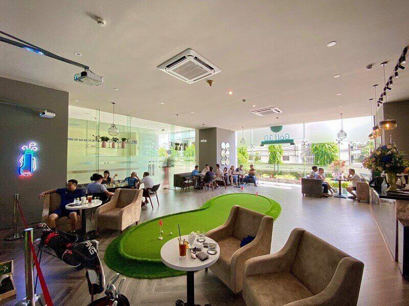 Sân golf trong nhà là một mô hình sân golf ngoài trời thu nhỏ được thiết kế ngay trong nhà